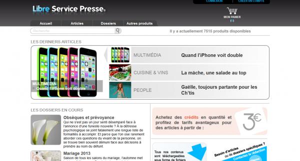 Libre Service Presse