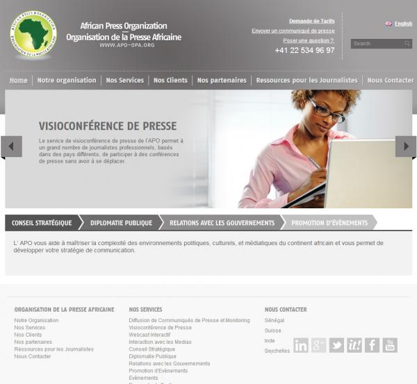 Organisation de la Presse Africaine