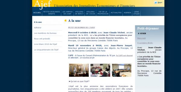 Association des Journalistes Economiques et Financiers