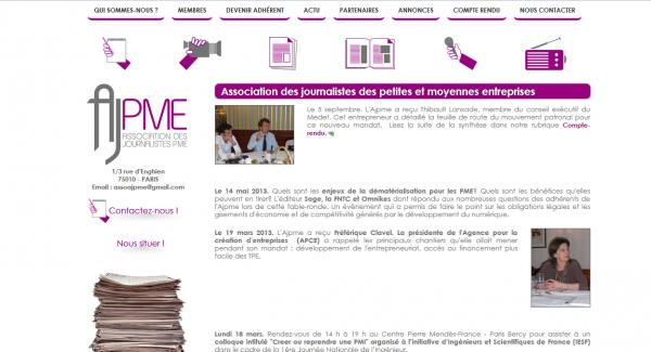 Association des journalistes des petites et moyennes entreprises