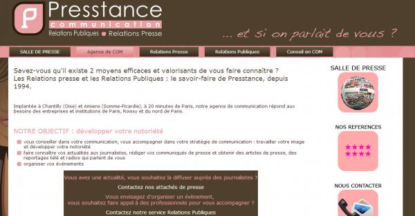 Presstance