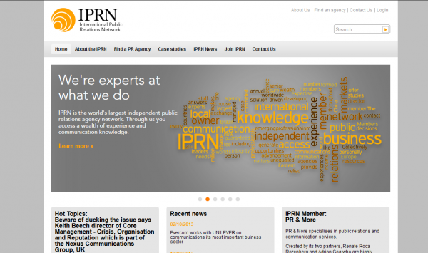 International Public Relations Network