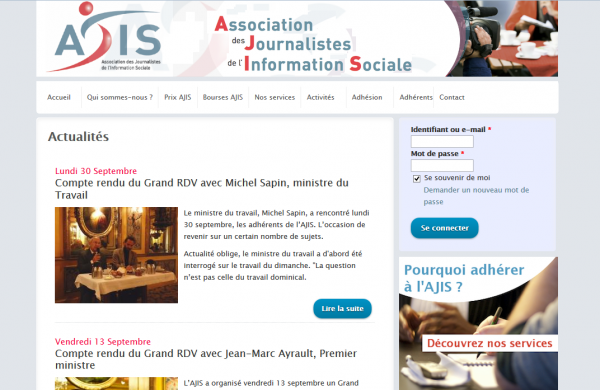 Association des Journalistes de l'Information Sociale
