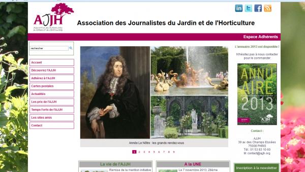Association des Journalistes du Jardin et de l