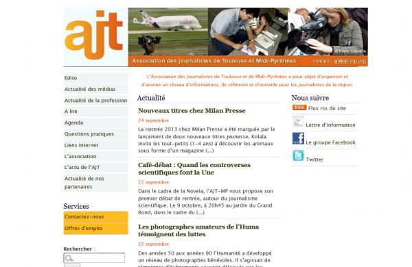 Association des Journalistes de Toulouse et de Midi-Pyrénées