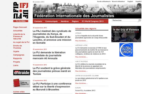 Fédération internationale des journalistes