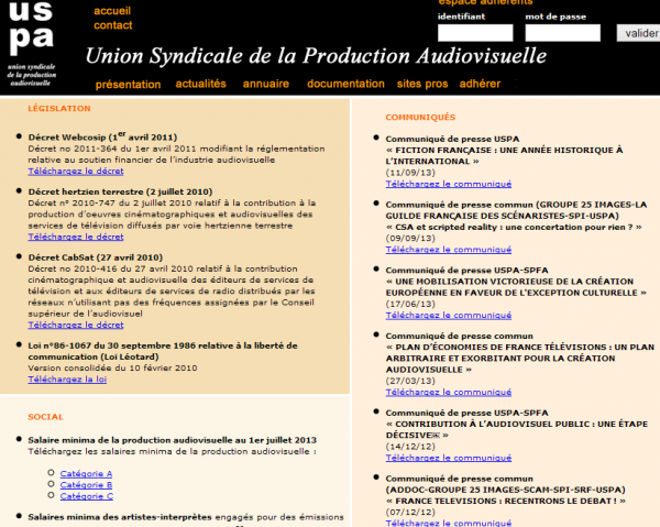 Union Syndicale de la Production Audiovisuelle