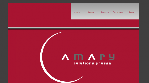 Amary Relations Presse