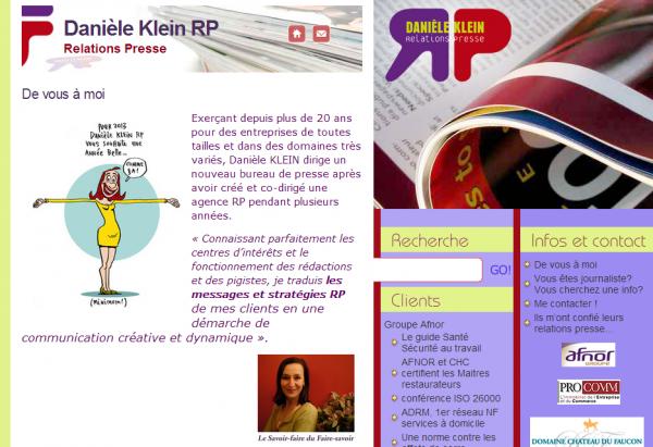 Danièle Klein RP