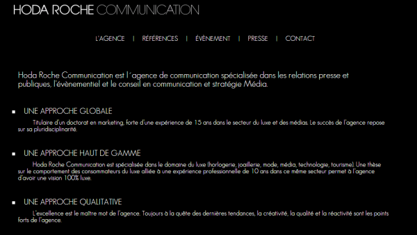 Hoda Roche Communication