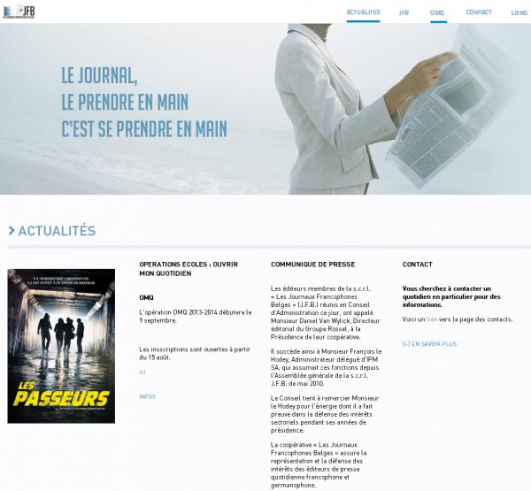 Journaux Francophones Belges (JFB)