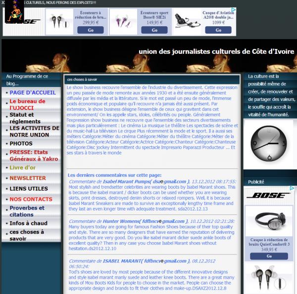Union des Journalistes Culturels de Côte d