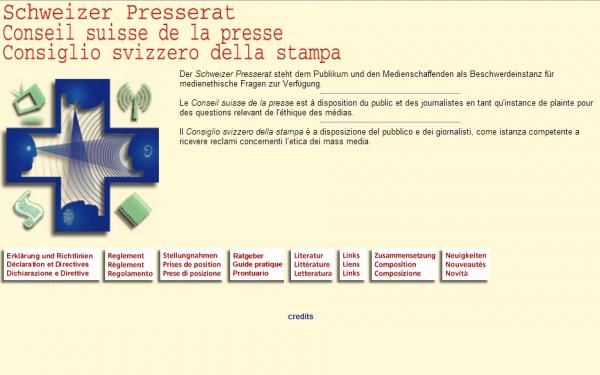 Conseil Suisse de la Presse
