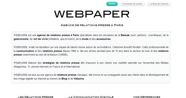 Webpaper