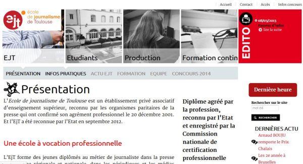 École de journalisme de Toulouse