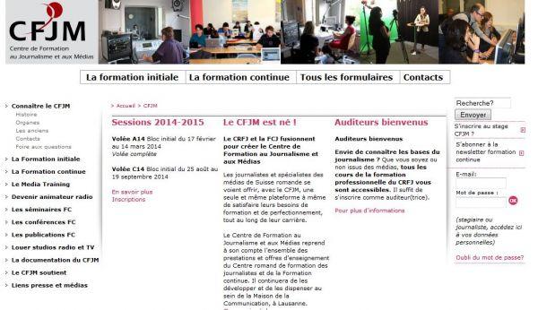 Centre de formation des journalistes et aux médias