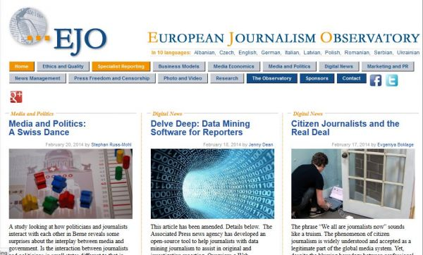 European Journalism Observatory