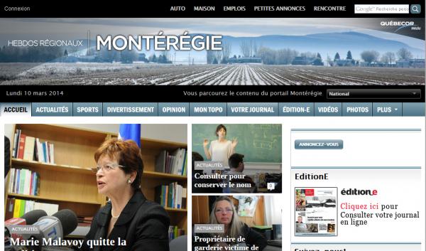 Les Hebdos Régionaux Québecor Média