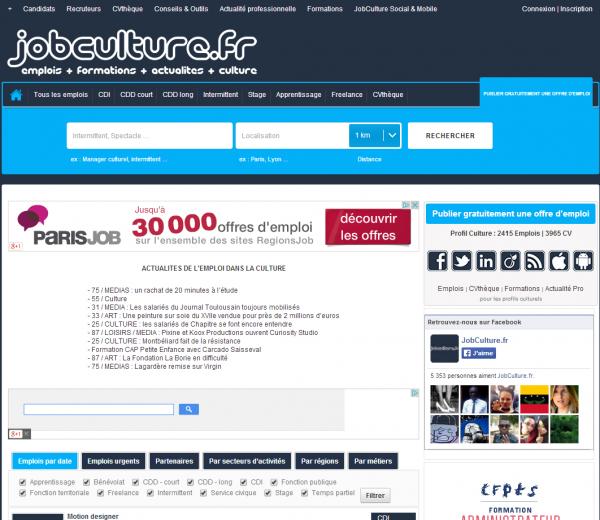 JobCulture.fr