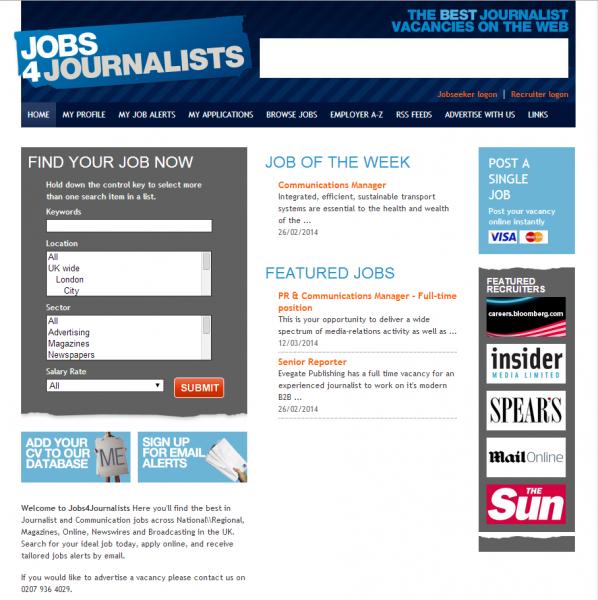 Jobs4journalists