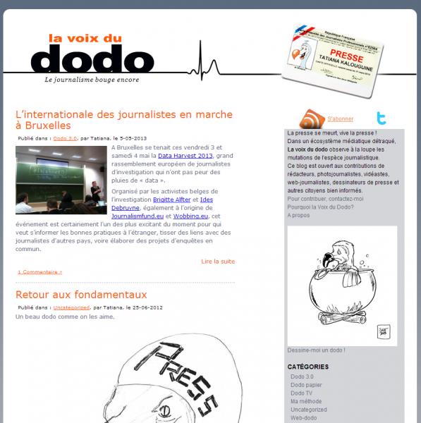 La voix du dodo