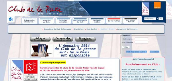 Grands prix du Club de la Presse Nord-Pas de Calais