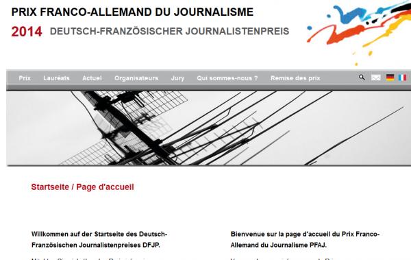 Prix franco-allemand du journalisme