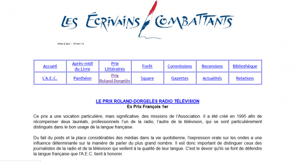 Prix Roland-Dorgelès radio/télévision