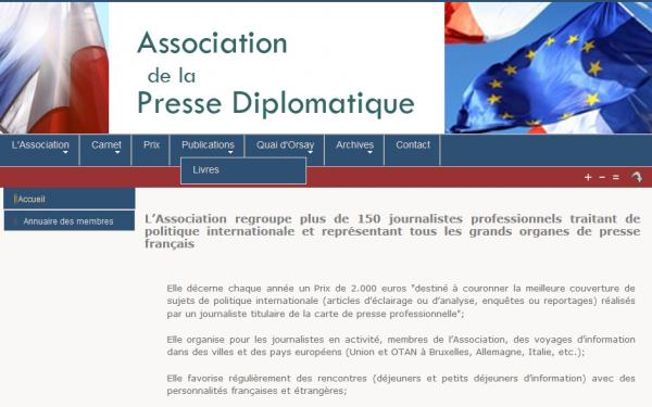 Prix de la presse diplomatique