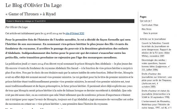 Olivier Da Lage