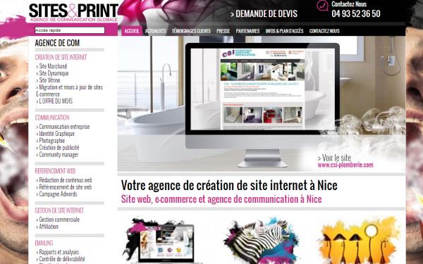 Sites et Print