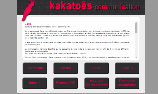 Kakatoës Communication