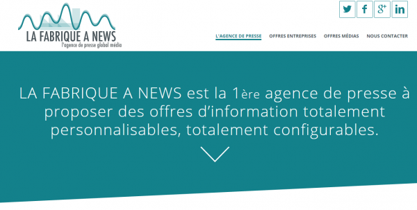 La Fabrique à News
