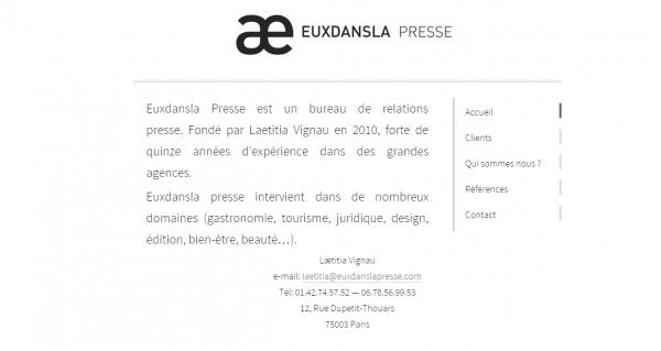 Euxdansla Presse