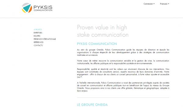 Pyksis Communication