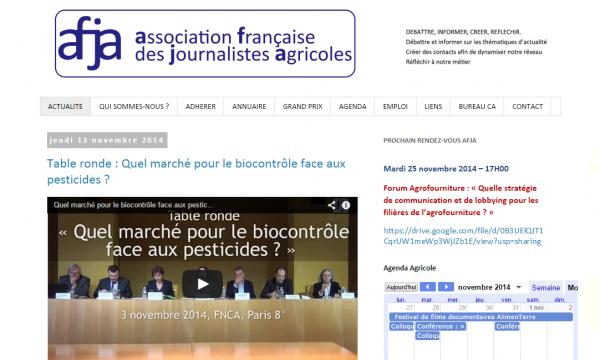 Association française des journalistes agricoles (AFJA)