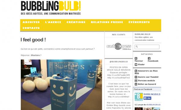 BUBBLING BULB!