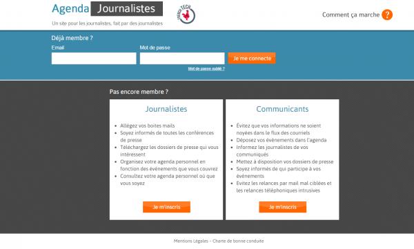 Agenda Journaliste