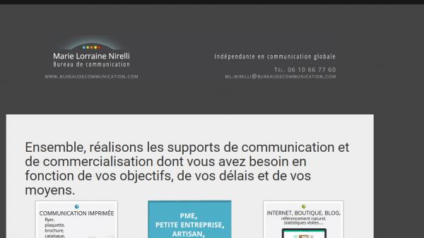 Marie Lorraine Nirelli - Bureau de Communication