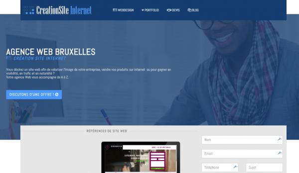 Agence web Bruxelles