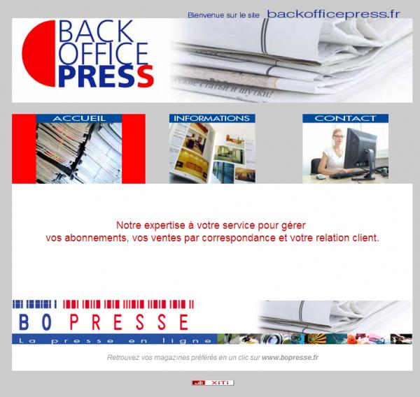 Back Office Press