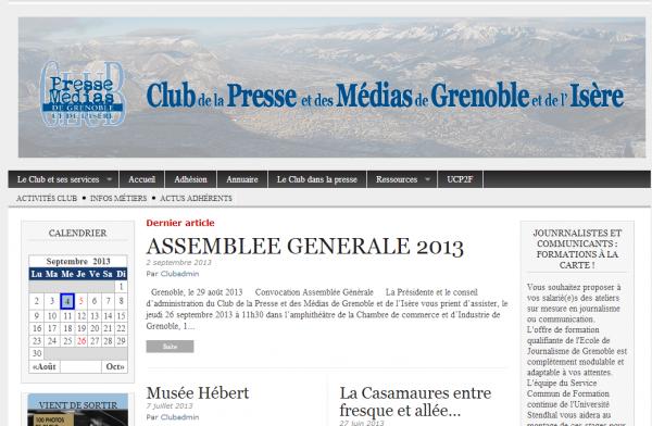 Club de la presse de Grenoble