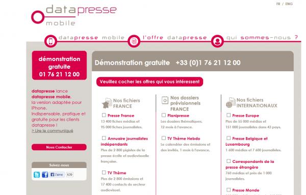 Datapresse