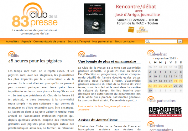 Club de la Presse 83