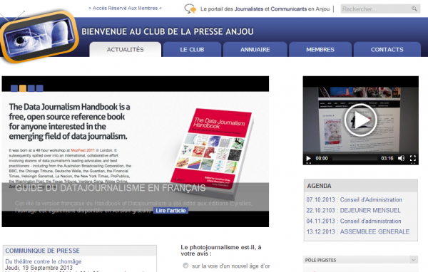 Club de la Presse Anjou
