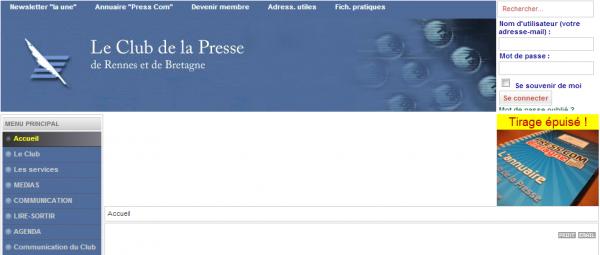 Club de la Presse de Rennes et de Bretagne
