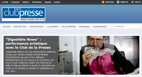 Club de la presse de Marseille-Provence Alpes du Sud
