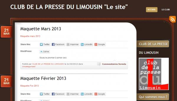Club de la presse du Limousin