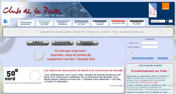 Club de la presse Nord Pas de Calais