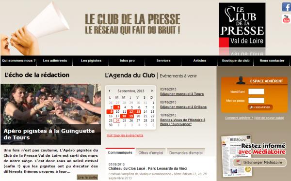 Club de la Presse Val de Loire